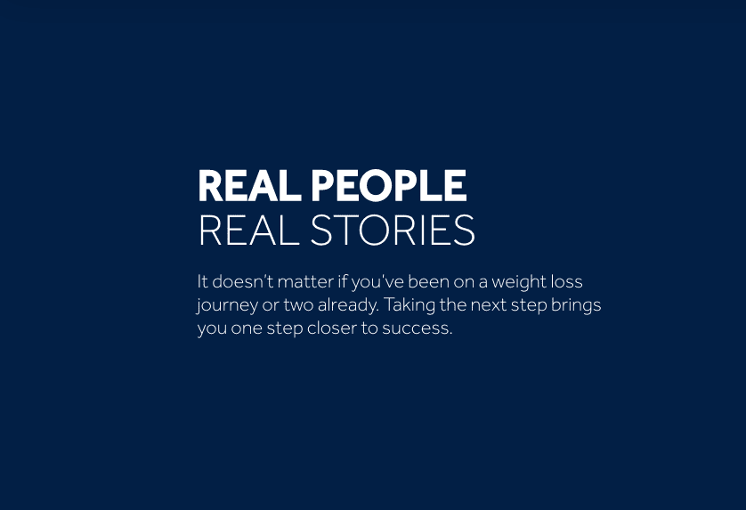 Real People & Real Stories